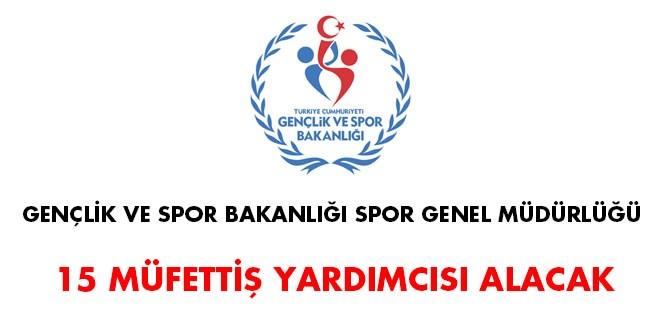 Genclik Ve Spor Bakanligi: Gençlik Ve Spor Bakanlığı Müfettiş Yardımcısı Alım İlanı
